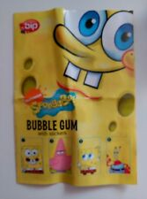 ALBUM DE BOB ESPONJA DE BUBBLE GUM CHICLES VACIO