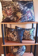Mossy Oak  Camouflage Throw Pillow Set Of 5 *New Handmade*