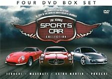 Iconic Sports Car Collection (NEW & SEALED 4 DVD SET)