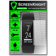ScreenKnight Polar Activity Tracker A360 FRONT SCREEN PROTECTOR invisible shield