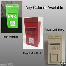 MDF Wooden Royal Mail / Irish Wedding Post Box, Painted Any Colours Available