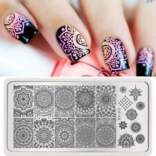1pc #XJ-J13 French Template Nail Art Image Stamping Print Plate Stamper Stencils
