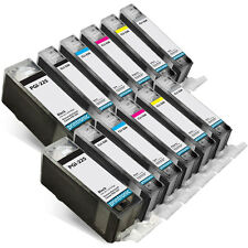 12PK Canon PGI225 CLI226 Ink Cartridge PIXMA MG6120 MG6220 MG8120 MG8120B M