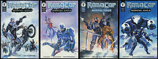 Robocop Mortal Coils Comic set 1-2-3-4 Lot Ed-209 Ray Lago art Bagged & Boarded