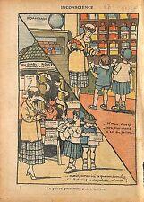 Caricature Antimaçonnique Poison des Médias Médicament Enfants 1920 ILLUSTRATION