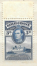 Rey George VI Gold Coast 1938 Sello Sin Uso - 3d-SEE SCAN