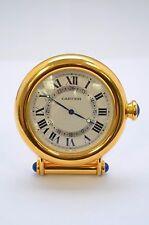 Cartier Art Deco Vintage Desk Alarm Clock 100% Authentic