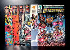 COMICS: Ultraverse: Ultraforce #1-6 (1990s) - (perez/justice league/superman)