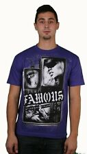 Famous Stars & Straps Living On Video Purple T-Shirt Size L