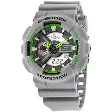 Casio G-Shock Analog-Digital Display Grey Resin Mens Watch GA110TS-8A3CR