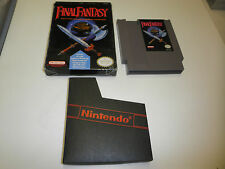 FINAL FANTASY ORIGINAL GAME with BOX shelf wear NINTENDO SYSTEM NES HQ BOX #A