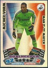 TOPPS MATCH ATTAX 2011-12- #406-MOTM-SWANSEA CITY-MICHEL VORM