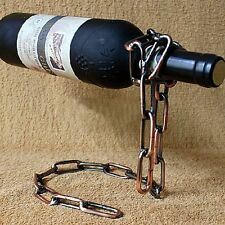 Stainless Magic Chain Rack Red Wine Bottle Holder Stand Support Bracket