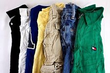 Tommy Hilfiger Lot of 7 Kids Boys Polo Shirts Shorts Jeans Medium M 12/14 BF8159