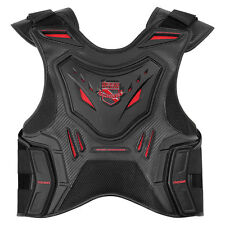 Icon Mens Stryker Motorcycle Vest Black 2XL/3XL XXLarge/XXXLarge