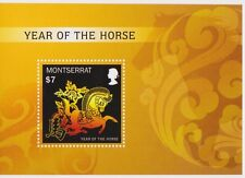 Montserrat - Lunar New Year, Year of the Horse, 2013 - S/S MNH