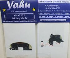 Yahu Models YMA7222 1/72 PE Short Stirling MK.IV Instrument Panel