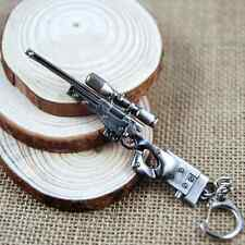 CS Sniper Gun AWM Charms Keychain CF Shooting Game Gun Rifle Key Ring US Seller