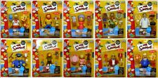 SIMPSONS PLAYMATES WOS LOT OF (10) INTERACTIVE FIGURES ALL MOSC PLEASE SEE PICS