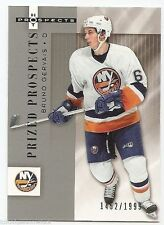 05/06 HOT PROSPECTS PRIZED PROSPECTS RC #150 Bruno Gervais #1452/1999