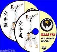 WADU RYU KARATE KATA TUTORIAL TRAINING DEMONSTRATIONS DVD VIDEO SET NEW