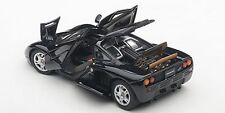 Autoart McLaren F1 JET BLACK METALLIC/METALLIC BLACK 1/43 Scale. New! In Stock!
