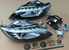 Audi Q7 Facelift Xenon Headlights complete with Adapter Plug & Play LED Bixenon