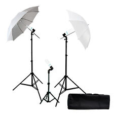 "Lighting Stand 43"" Photography White Umbrella Photo Studio Lights lighting Kit"