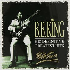 "B.B. King ""his definitive GREATEST HITS"" 2 CD NUOVO"