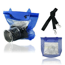 20M Waterproof DSLR SLR Camera Underwater Housing Case Pouch Dry Bag Canon Nikon