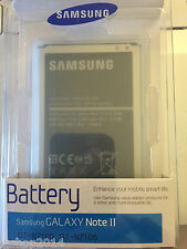 batteria per galaxy note 2 N7100 N7105 samsung genuine originale EB595675LUCSTD