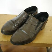 RIEKER German Antistress Brown Leather Euro Comfort Walking Office Shoes 7 37.5