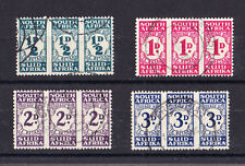 SOUTH AFRICA 1943-44 POSTAGE DUE SET SG D30-D33 FINE USED.