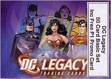 Dc legacy - 50 carte de base/base set inc P1 gratuit promo carte