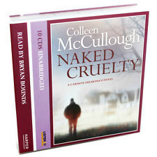 COLLEEN McCULLOUGH ~ NAKED CRUELTY NEW AND SEALED 10 CD AUDIO / TALKING BOOK