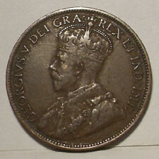 1917 Canada Large Cent , VF/XF