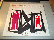Verdi: La Forza Del Destino (Highlights) Armando La Rosa Parodi~Sealed Stereo LP