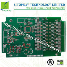 Low cost 1-2Layer Professional PCB Board Manufacture Prototype Etching  10x10cm