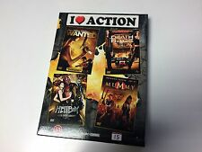 NEW DVD Film WANTED / HELLBOY GOLDEN ARMY/ DEATH RACE / MUMMY 3 * I HEART ACTION
