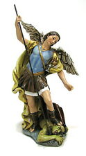 Statue St. Michael Archangel 7.5 inch Painted Resin Joseph Studio Saint Catholic