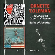 Ornette Coleman - The Music of /Skies of America (2012)  2CD  NEW  SPEEDYPOST