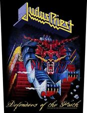 "Judas Priest "" Defenders of the Faith "" Sew-on back patch 602541 #"