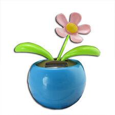 Blue Magic Cute Flip Flap Swing Dancing Solar Powered Flower Toys AD
