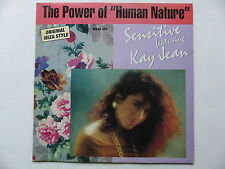 "MAXI 12"" SENSITIVE feat KAY JEAN The power of "" human nature "" 1319 6"