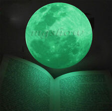 Luminous Moon Glow In The Dark Wall Stickers Moonlight Home DIY Room Art Mural