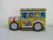 Colorful M&M's Bank Holiday Bus Tin
