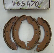MOTAQUIP REAR BRAKE SHOES TO FIT NISSAN PRIMERA PART No VBS470
