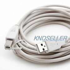5M 15FT ( USB 2.0 A to B Printer Cable ) A-B Epson HP Printer Scanner Camera