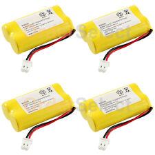 4 NEW Cordless Phone Battery for Vtech BT175242 BT275242 89-1341-00-00 CS6129-54