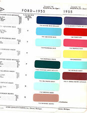 1955 FORD MAINLINE FAIRLANE CROWN VICTORIA SUNLINER 55 PAINT CHIPS ACME 2